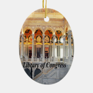 Photos of different areas of the United States Ceramic Ornament