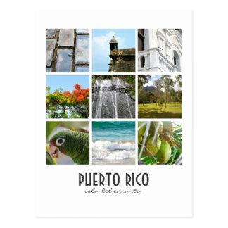Photos of Puerto Rico Postcard