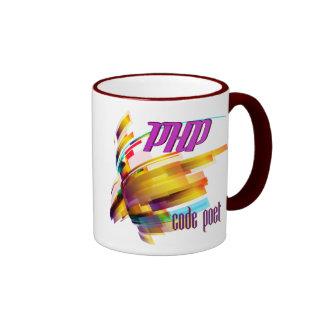 PHP- Code Hurricane Ringer Mug