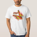 PHP- Multicolor Code Swirl T Shirts