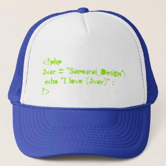 php script of Programming language Trucker Hat