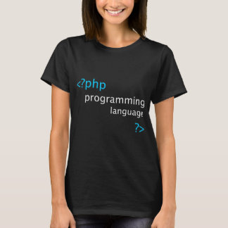 Php Web Programmer Tees