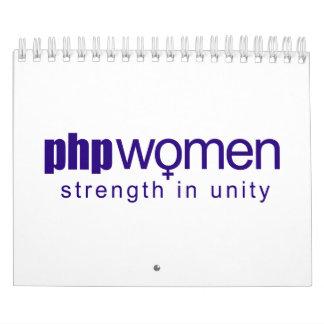 PHP Women 2010 (small) Wall Calendar