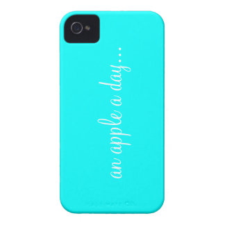 PhraseCase. an apple a day Case-Mate iPhone 4 Case
