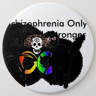 phrenia Only ronger 6 Cm Round Badge