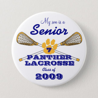 PHS Senior Button with Number