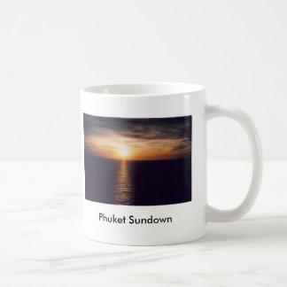 Phuket Sundown Basic White Mug