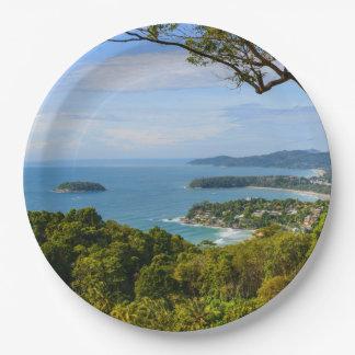 Phuket Thailand - Kata Beach Paper Plate