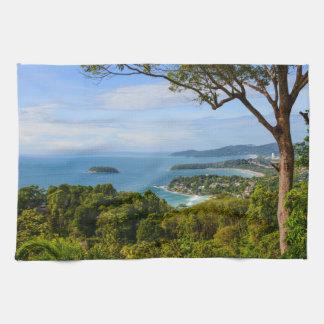 Phuket Thailand - Kata Beach Tea Towel