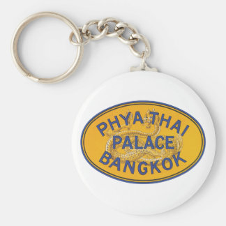Phya Thai Palace Bangkok Basic Round Button Key Ring