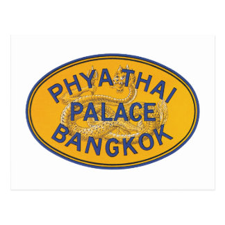 Phya Thai Palace Bangkok Postcard