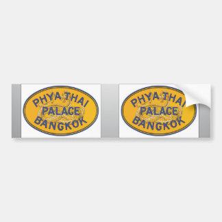 Phya Thai Palace Bangkok, Vintage Bumper Sticker