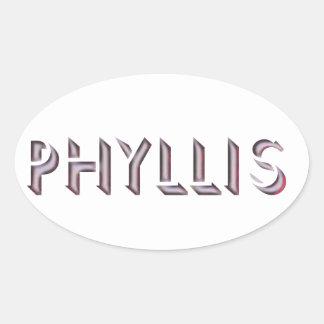 Phyllis sticker name