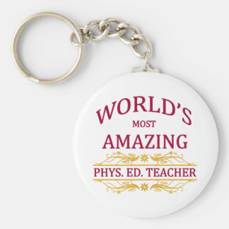 Phys Ed Teacher Key Chains