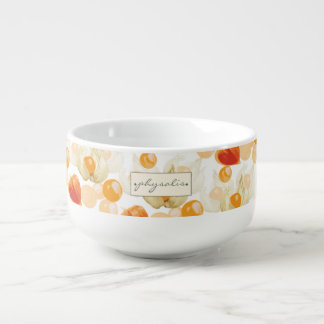Physalis | Winter Cherries Soup Mug