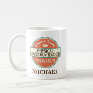 Physical Education Teacher Personalized Mug Gift