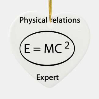physical relations expert christmas ornaments