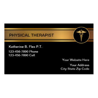 Physical Therapist Business Cards