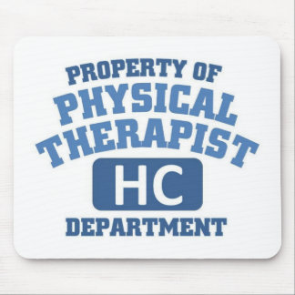 Physical Therapist Mouse Pads
