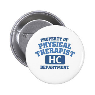 Physical Therapist Pinback Button
