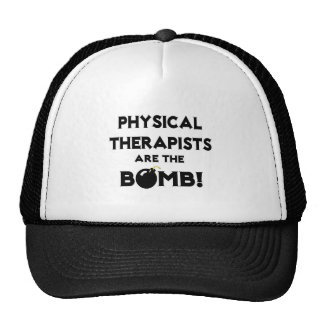 Physical Therapists Are The Bomb! Mesh Hats