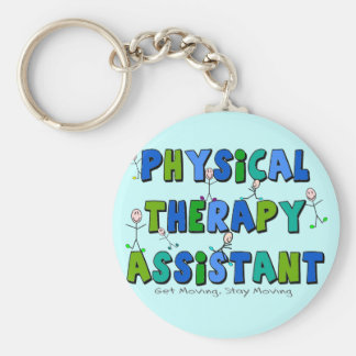 Physical Therapy Assistant Gifts Key Ring