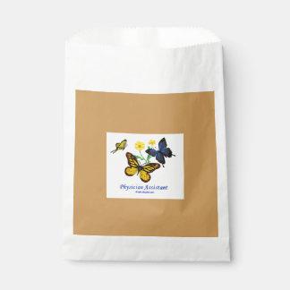 Physician Assistant - Butterflies Favour Bags