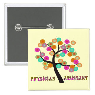 Physician Assistant Gifts Pinback Button