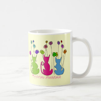 Physician Assistant Gifts Whimsical Cats Design Coffee Mug