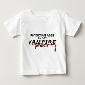 Physician Asst Vampire by Night Baby T-Shirt