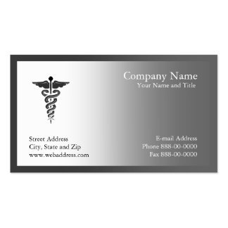 Physician Business Card
