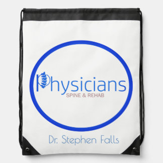 Physicians Network  Stephen Falls drawstring bag