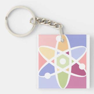Physics Atom Keychain