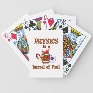 Physics Barrel of Fun Card Decks