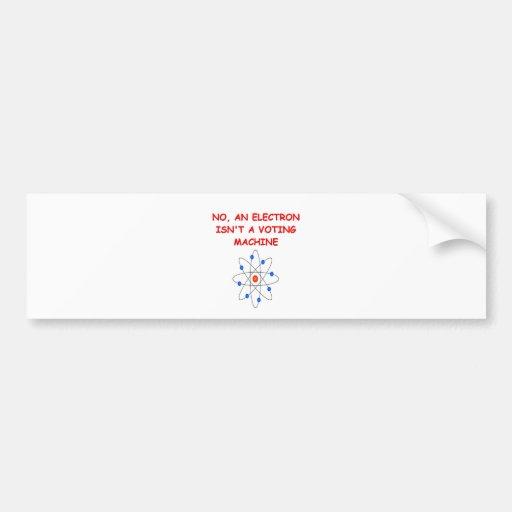 physics bumper stickers