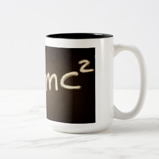 Physics Coffee Mug with Einstein's Famous Equation