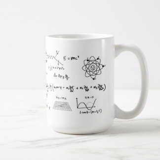 Physics Formulas Coffe Mug