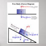 Physics Free Body Force Diagram