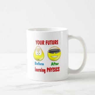 Physics Future Classic White Coffee Mug