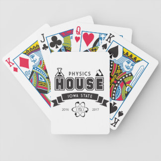 Physics House Bicycle Playing Cards
