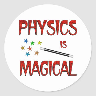 Physics is Magical Sticker