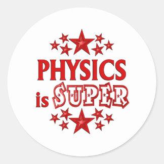 Physics is Super Sticker