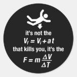 physics - it's the sudden deceleration that kills
