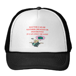 physics joke mesh hats