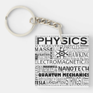 Physics Keychain