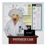 Physics Lab Poster