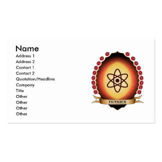 Physics Mandorla Business Card