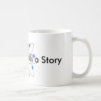 Physics Mug: Every Atom Tells a Story Coffee Mug