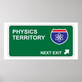 Physics Next Exit Poster