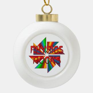 Physics Rocks Ornaments
